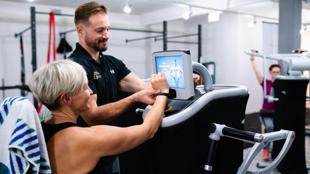 Training am eGym Gerät
